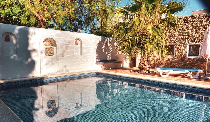 pool daylight finca ibiza