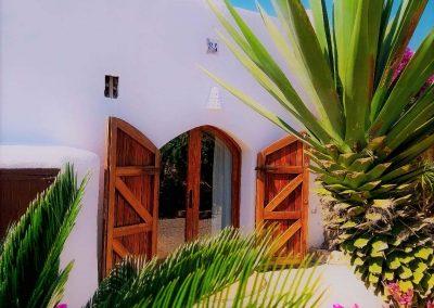 Main entrance finca ibiza