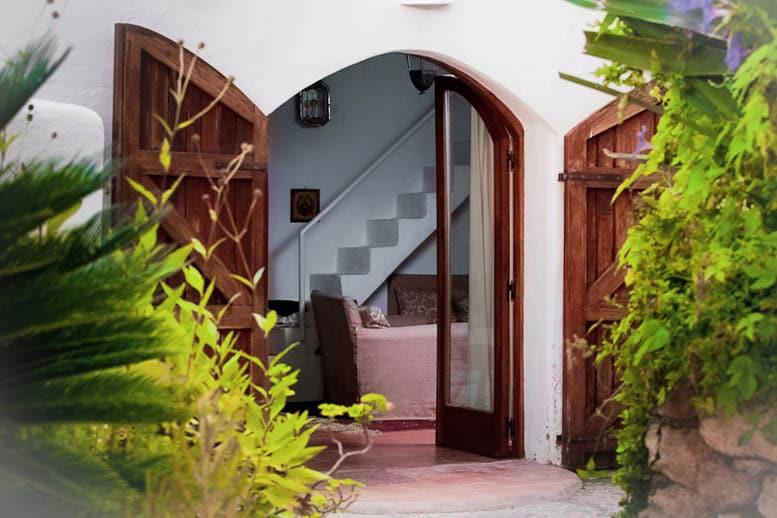 entrance finca ibiza